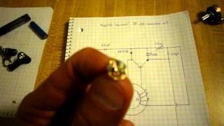 Maglite Joule thief oscillator