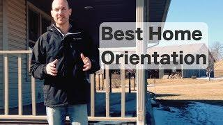 Best Home Orientation - Green Building
