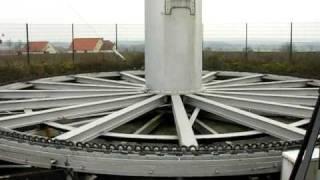 Vertikal-Windrad bei Dülmen-Rorup (H-Darrieus-Rotor)