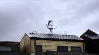 Virtually Silent MagLev Vertical Axis Wind Turbine