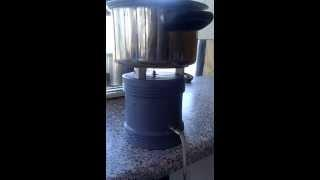 African oxyhydrogen table stove. Video 2