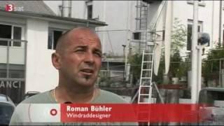 Wind turbine - H-rotor