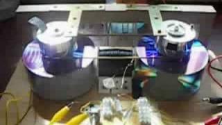 Twin Rotor Bedini Motor vid 3