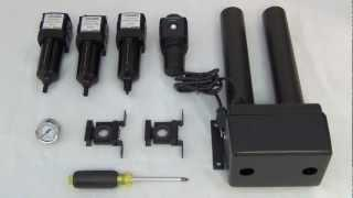 Compressed Air Filters - Assembly and Installation (2 of 3)