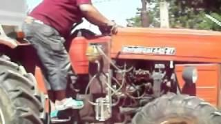 Saving fuel with hho on a traktor