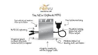 The NEW Enphase M250 Micro Inverter Features and How to Install Guide | RENVU.com