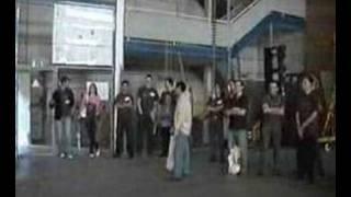 Marx-Generator 3 Millionen Volt Hochspannung
