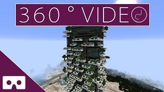 MINECRAFT SKYSCRAPER TIMELAPSE - BOSCO VERTICALE 360°