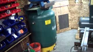 Compressed Air Receiver Tank on the Cheap Capacity