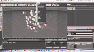 Cinema 4d Tut: Creating Random Cubes/Objects With Cloner Object And Random Effector