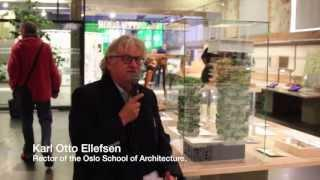 "Karl Otto Ellefsen, Oslo Architecture Triennale 2013 ""Behind the Green Door"""