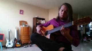 Fretless guitar test (converted from classical standard)