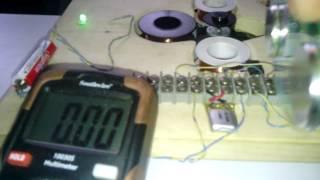 Pulse motor generator 1.5 volt