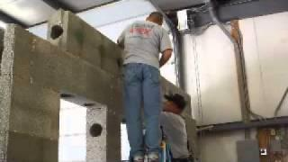 APEX Block Beam ICF ICFs Construction Green Home Building Leed Points Insulated concrete form