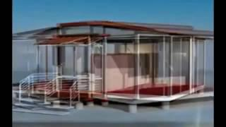 build a container house - aussie couple builds off-grid mobile home with 2 containers