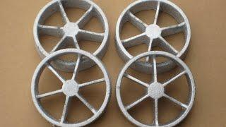 Metal Casting at Home part 60 Spoked wheel Castings