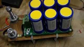 Boost module test with LiFePo4 Lithium Iron Phosphate battery