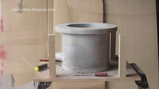 Metal Casting at Home Part 51 Oil Fired Furnace Build Part 3