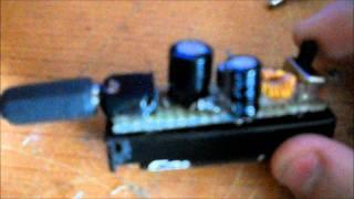 1.5 volt to 5 volt joule thief