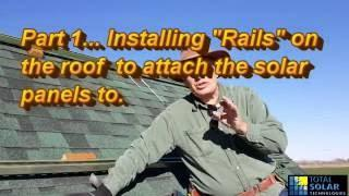 DIY Cheap Solar Panel Install On roof