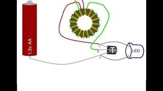 simple explanation of the joule thief circuit
