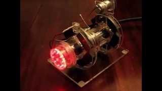 Turbina de Tesla Motor Magnético funcionando