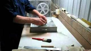 How to make a green sand mold for a pulley