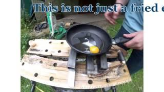 Frying an egg with Green Hydrogen
