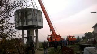 Montaż turbiny wiatrowej SAVONIUS / VAWT turbine installation