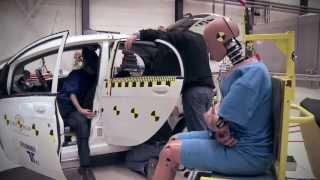 Euro NCAP - crash testing plugin electric vehicles - Mitsubishi i-MiEV crash test