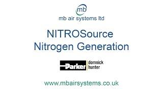 NITROSource PSA Nitrogen Generator - mb air systems
