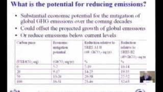 IPCC WG3 Report Climate Change Mitigation ( 2 of 7)
