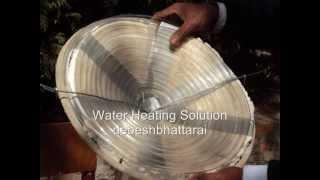 Solar Water Heating Solution DIY