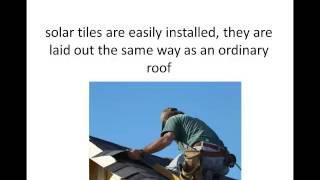 solar tiles and solar shingles