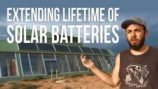 How to Extend Life of Solar Batteries