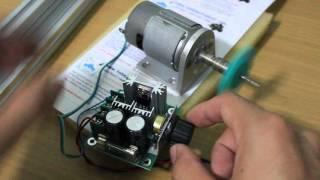 รีวิว บอร์ด PWM DC Motor 12V-40V 10A Pulse Width Modulation Speed Control