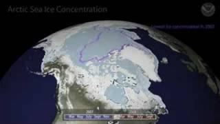 The Arctic Ice Melt for 2008