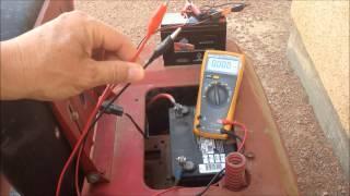 Bedini Motor Battery Charging (3 June 2015)