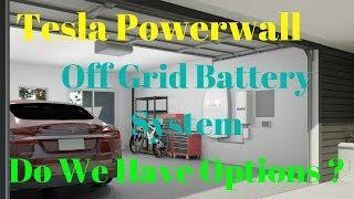Off Grid Living- DIY Tesla Power Wall ? Simpliphi - Tesla Modules - Golf Cart Battery