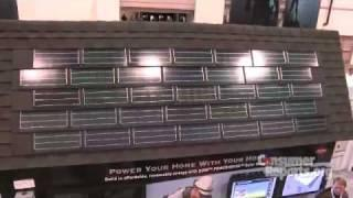 Solar Roof Shingles: 2010 International Builders Show | Consumer Reports