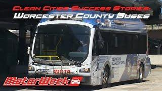 Clean Cities Success Stories: Worcester County Buses - All Electric is All the Rage