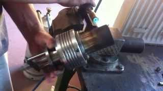 Free Piston Stirling Engine / New Design / Silent /  Low Resistance Sealing /  Very Strong (Vecsés )