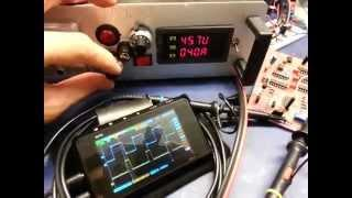 Of Stanley Meyer WFC my complete  circuit (test 1)