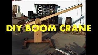 DIY Boom Crane