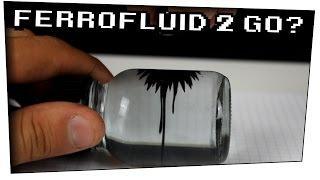 DIY Ferrofluid in a bottle / Ferrofluid zum mitnehmen? - Heimexperimente #46