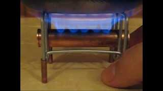 Alcohol stove # 9 - MiniMicro Evolution (no soundtrack)