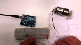 Arduino Motor Interfacing using MOSFET and PWM