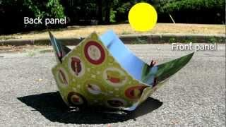 Copenhagen Solar Cooker - How to set up and use