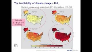 Mitigating and Adapting to Climate Change in Nebraska – An Energy Perspective - October 22, 2015