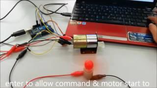 Arduino Mini DC Motor Driver dual H-Bridge PWM Control(L293D)